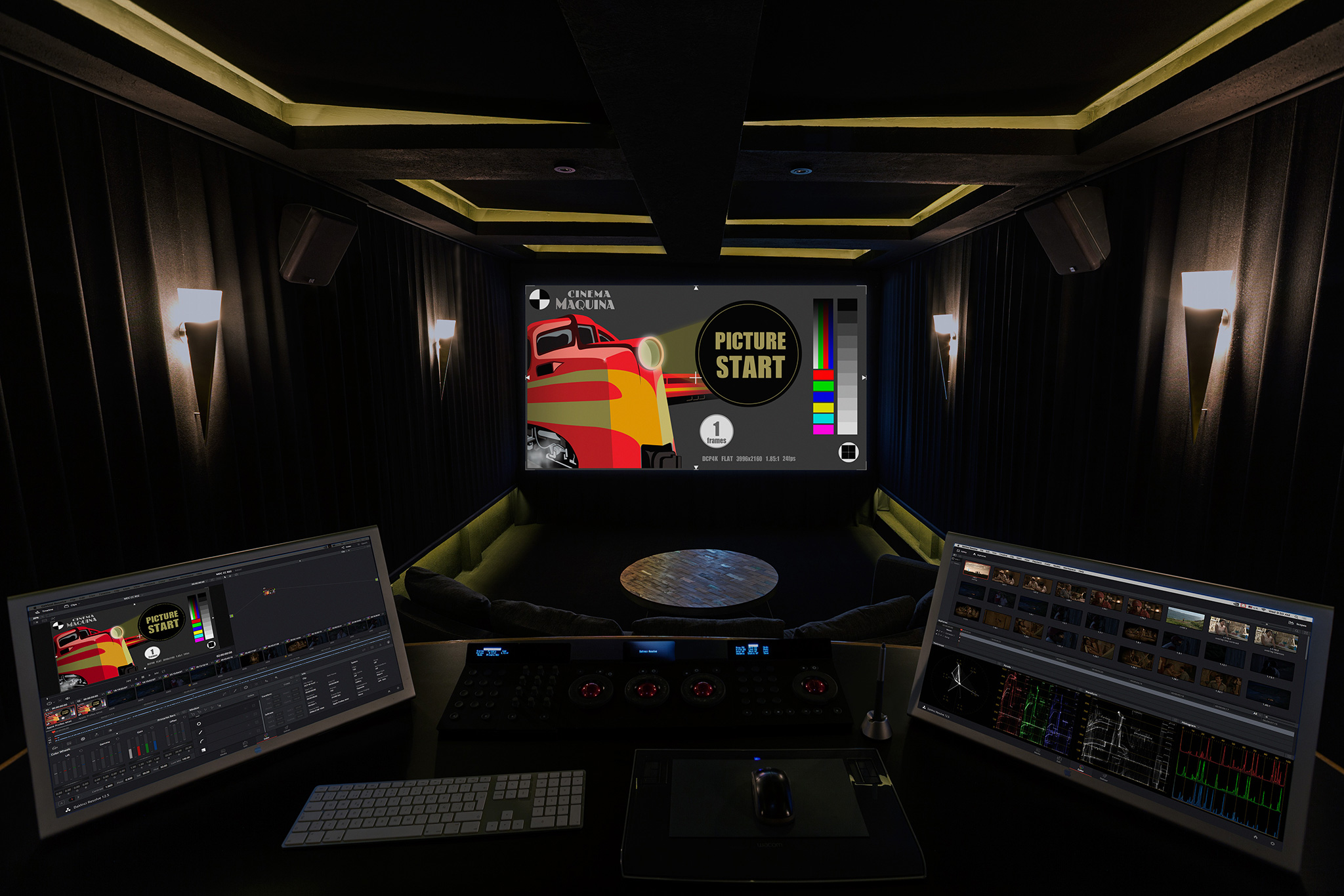 Cinema Máquina, sala principal